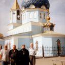О. Валерий у храма в Магнитогорске.