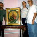 2006г. Список с иконы Трубчевской Божьей Матери в моем доме.