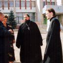 2006г. о. Валерий около наровчатского ДК.