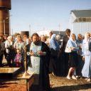 2006г. Освящение часовни в Наровчатке.
