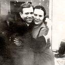 Художник П.С. Аниськин с супругой Н.И. Аниськиной 1964г.